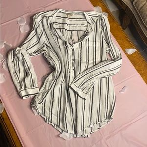 Lucky brand striped blouse